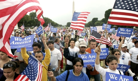 Immigration has become a presidential campaign issue. AP Photo