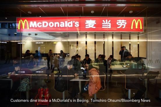 mcD-china