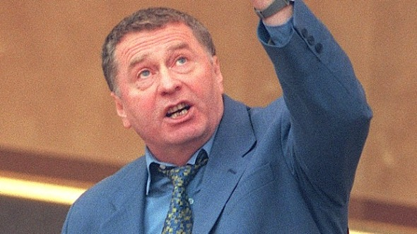 Vladimir Zhirinovsky. Photo:AP