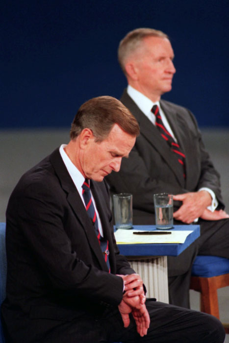 DEBATE BUSH PEROT