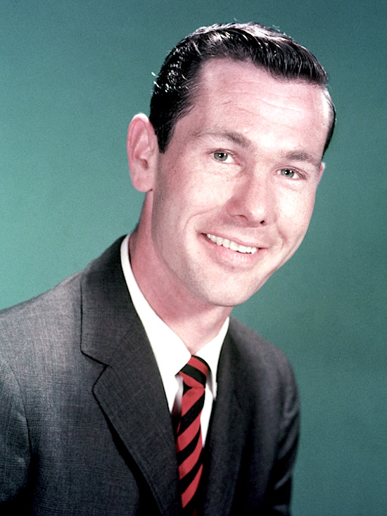 circa 1965: Headshot portrait of American comedian and television personality Johnny Carson. (Photo by Hulton Archive/Getty Images)