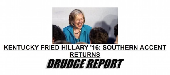 Drudge-Hillary-Southern-Accent