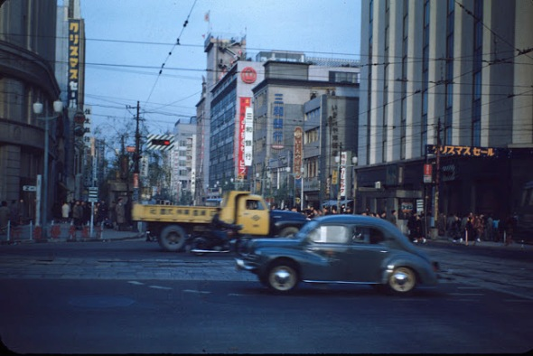 Ginza, Tokyo, ca. 1949-51