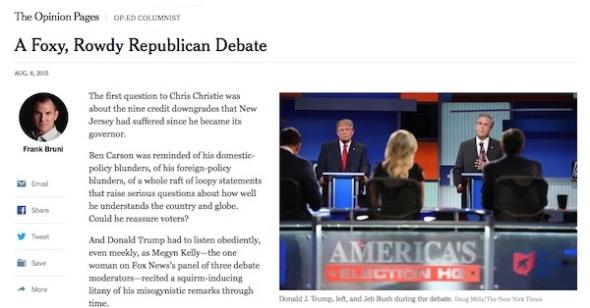 NYT-debate