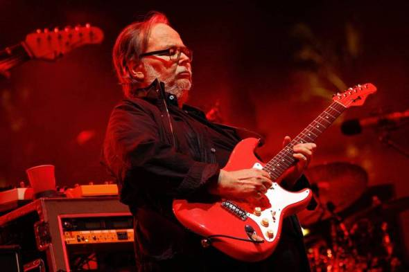 Walter Becker of Steely Dan at Coachella in April PHOTO: ZACH CORDNER/INVISION/ASSOCIATED PRESS