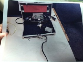 High resolution police photo of Ahmed's clock. Click to enlarge.