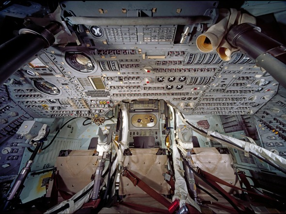 Apollo Command Module Interior