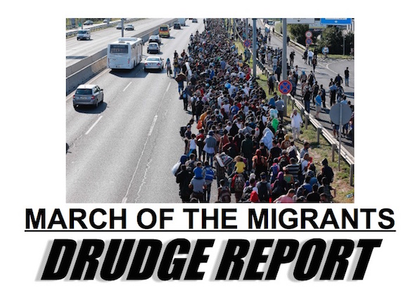 drudge-migrants-march