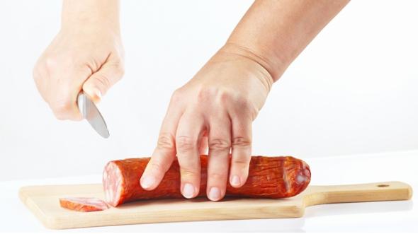sausage-cut