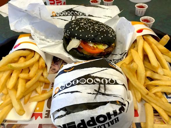 black-burger-fries