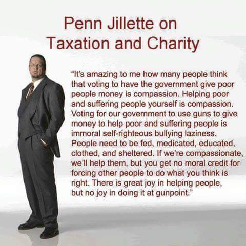 taxation and charity