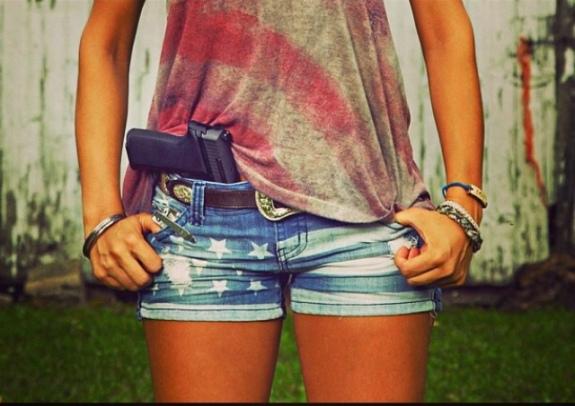 gun-babe