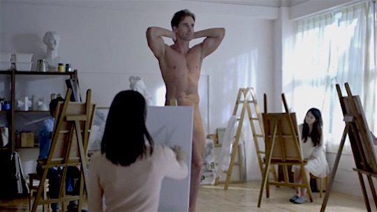 VIDEO] WOT? Japanese Nude Figure Drawing Art Student: More