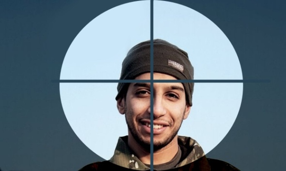 TARGET: This guy, Abdel-Hamid Abu Oud: alleged mastermind of Paris attacks