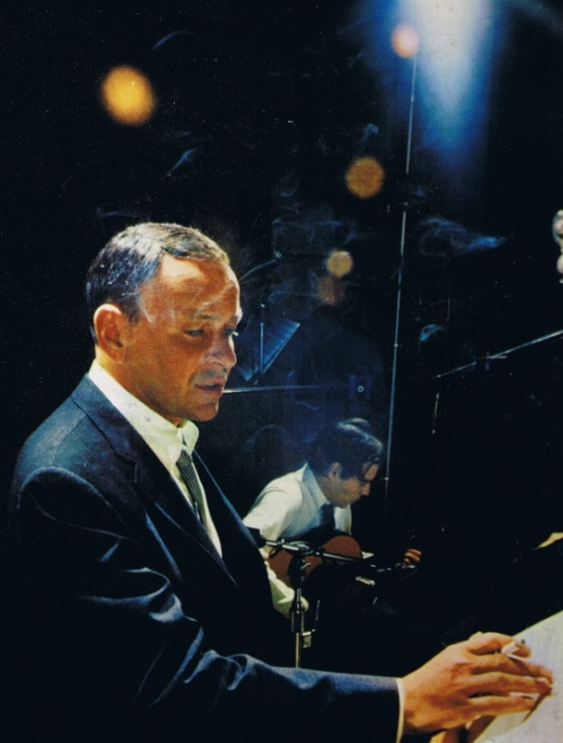 Frank Sinatra [born December 12, 1915] and Antonio Carlos Jobim, 1967
