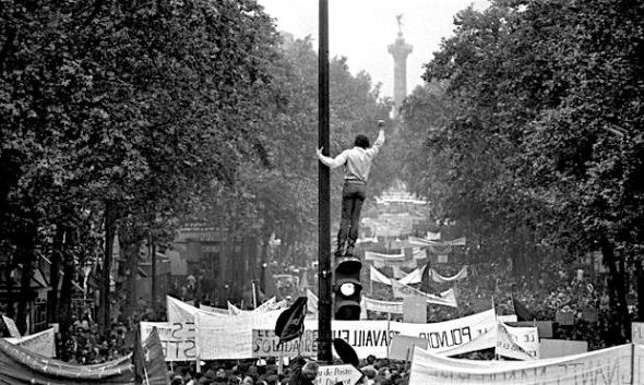 Paris 1968 France protests bruno barbey