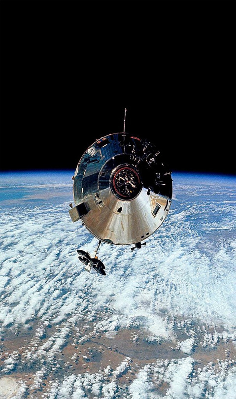 The Apollo 9 Command Module