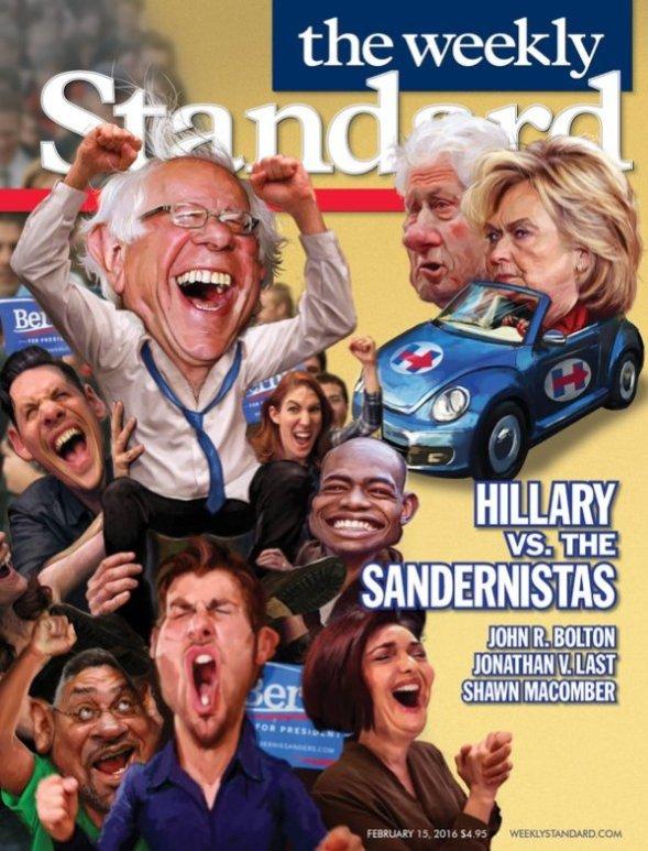 weekly standard sandernistas