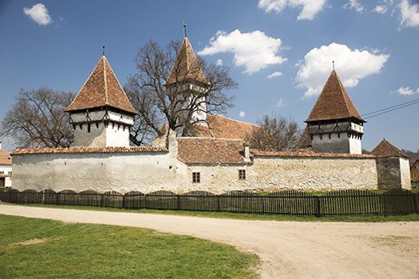 The walled churches of Transylvania