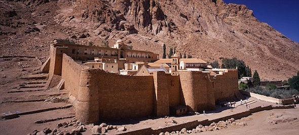 St. Catherine's Monastery in Sinai