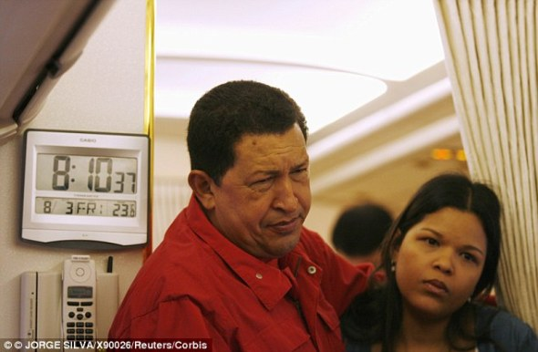 High society: The daughter of Hugo Chavez may be the wealthiest woman in Venezuela, according to evidence reportedly in the hands of Venezuelan media outlets