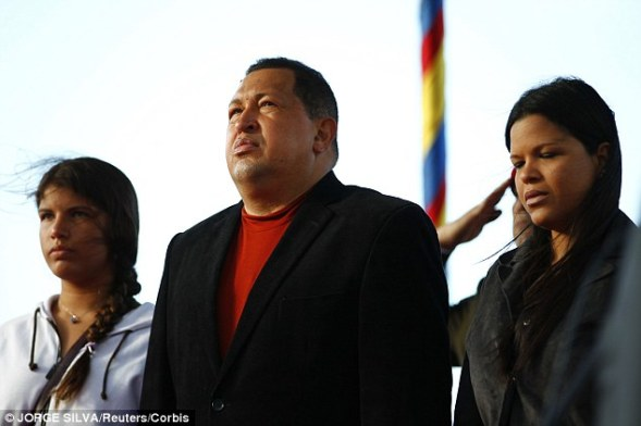 Maria Gabriela Chavez, 35, the late president's second-oldest daughter, holds assets in American and Andorran banks totaling almost $4.2billion, Diario las Americas reports