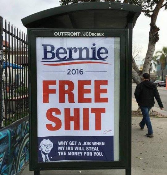 bern-free-shit-poster