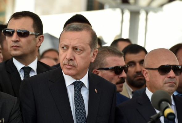Turkish President Erdogan doesn't take 'insults' lightly. And by insults I mean 'any form of criticism.' Thomas Koch / Shutterstock.com