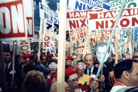 Supporters_of_Richard_Nixon_at_the_1968_Republican_National_Convention_Miami_Beach,_Florida