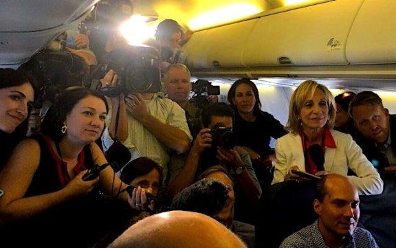hillary-media-press