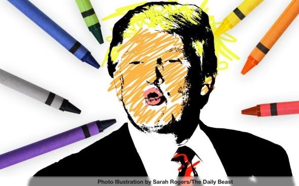 coloring-trump