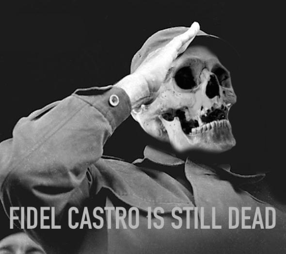 still-dead-fidel-castro-bw