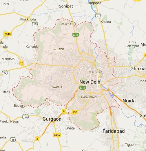 gurgaon-map