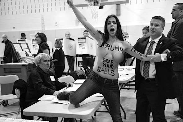 trump-topless-protest-bw