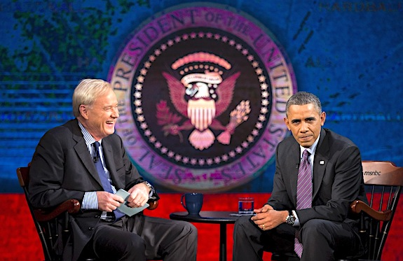Barack Obama, Chris Matthews
