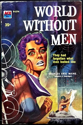 Ace D-274 Paperback Original (1958). Cover Art by Ed Emsh