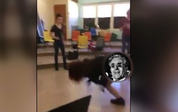 Oklahoma teacher arrested for cartwheeling before students