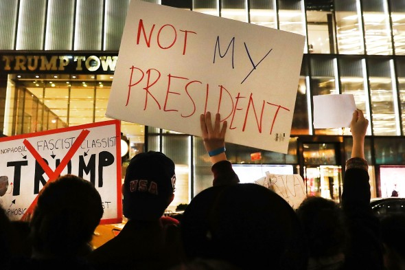 As Donald Trump Wins Presidency, Country Reacts
