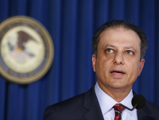 Former U.S. Attorney Preet Bharara in New York on March 11, 2017. (Photo: Kathy Willens, AP)