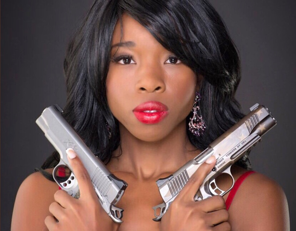 CONCEAL CARRY ADVOCATE ANTONIA OKAFOR (TWITTER).