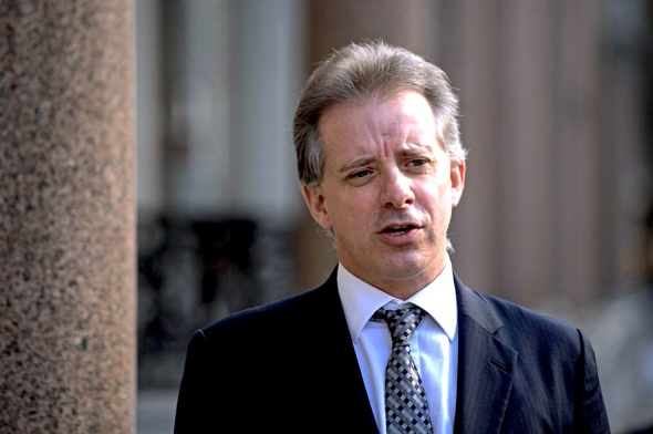 Former British intelligence officer Christopher Steele compiled the dossier on President Trump's alleged ties to Russia. (Victoria Jones/AP)