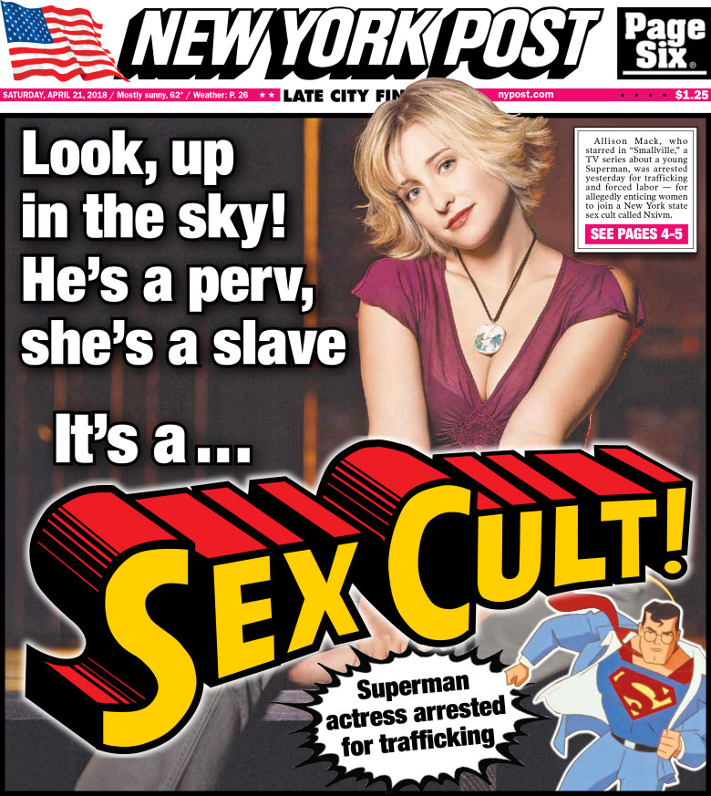 Sex and the city ny post